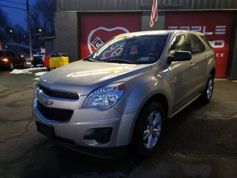 2015 Chevrolet Equinox for sale at Apple Auto Sales Inc in Camillus NY