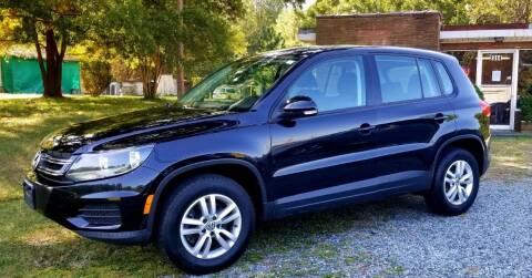 2013 Volkswagen Tiguan for sale at Progress Auto Sales in Durham NC