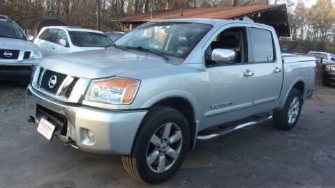 2009 Nissan Titan for sale at Select Cars Of Thornburg in Fredericksburg VA