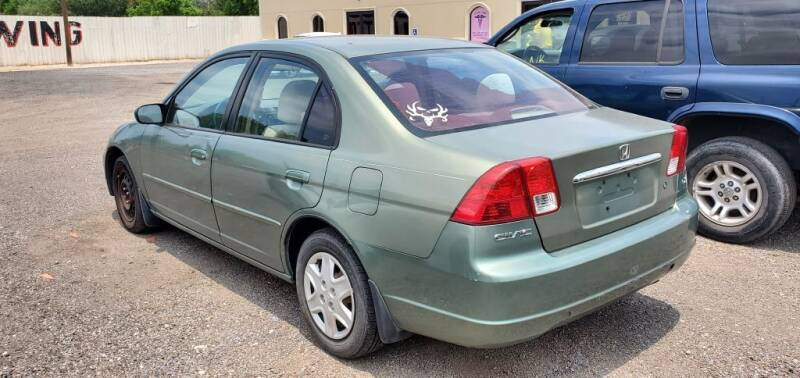 2003 Honda Civic for sale at BAC Motors in Weslaco TX