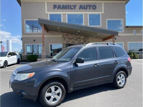 2013 Subaru Forester for sale at Moses Lake Family Auto Center in Moses Lake WA