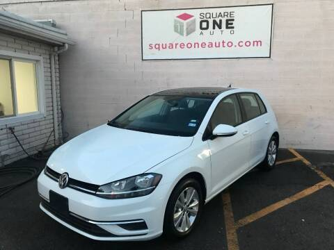 2020 Volkswagen Golf for sale at SQUARE ONE AUTO LLC in Murray UT