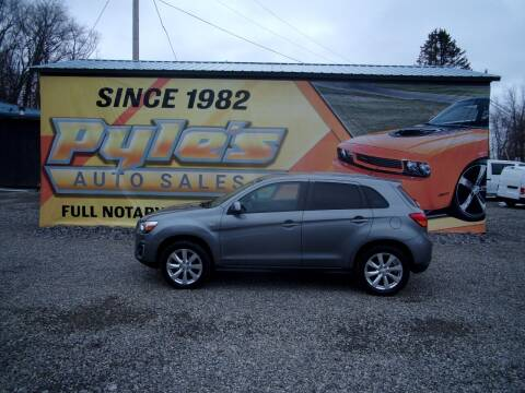 2015 Mitsubishi Outlander Sport for sale at Pyles Auto Sales in Kittanning PA