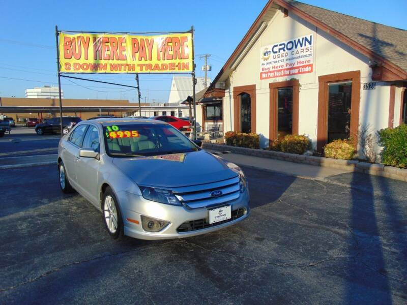 2010 Ford Fusion for sale at Crown Used Cars in Oklahoma City OK