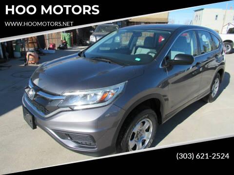 2015 Honda CR-V for sale at HOO MOTORS in Kiowa CO