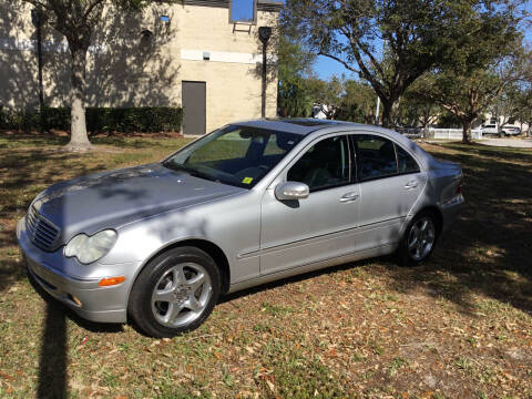 2001 Mercedes-Benz C-Class for sale at Second 2 None Auto Center in Naples FL