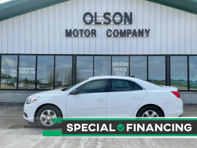 2013 Chevrolet Malibu for sale at Olson Motor Company in Morris MN