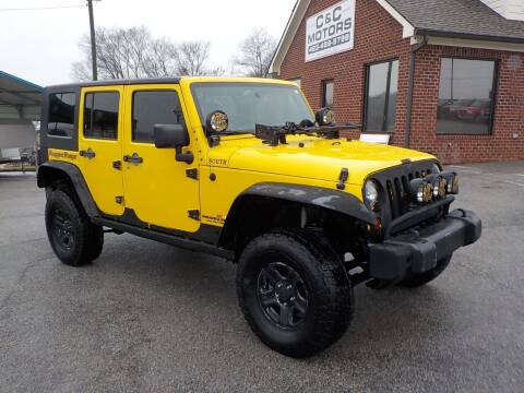 2009 Jeep Wrangler Unlimited for sale at C & C MOTORS in Chattanooga TN