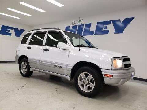 2002 Chevrolet Tracker for sale at HILEY MAZDA VOLKSWAGEN of ARLINGTON in Arlington TX