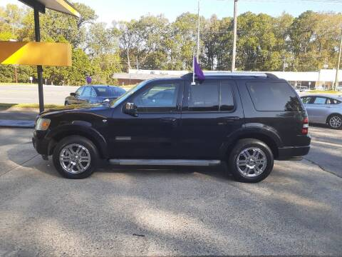 2008 Ford Explorer for sale at PIRATE AUTO SALES in Greenville NC