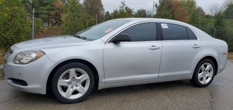 2012 Chevrolet Malibu for sale at Superior Auto Sales in Miamisburg OH