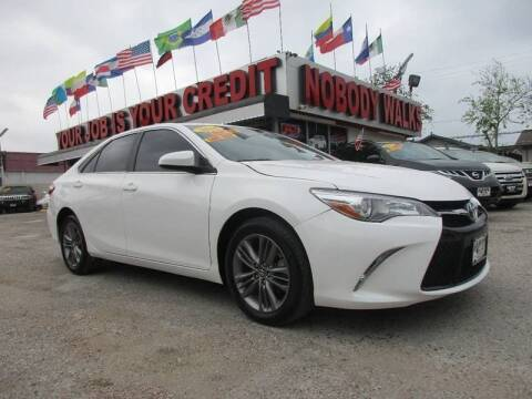 2016 Toyota Camry for sale at Giant Auto Mart 2 in Houston TX