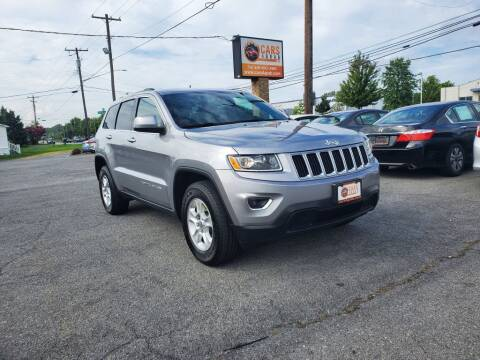 2016 Jeep Grand Cherokee for sale at Cars 4 Grab in Winchester VA