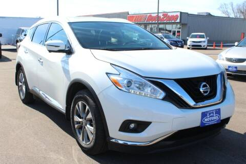 2017 Nissan Murano for sale at L & L MOTORS LLC - REGULAR INVENTORY in Wisconsin Rapids WI