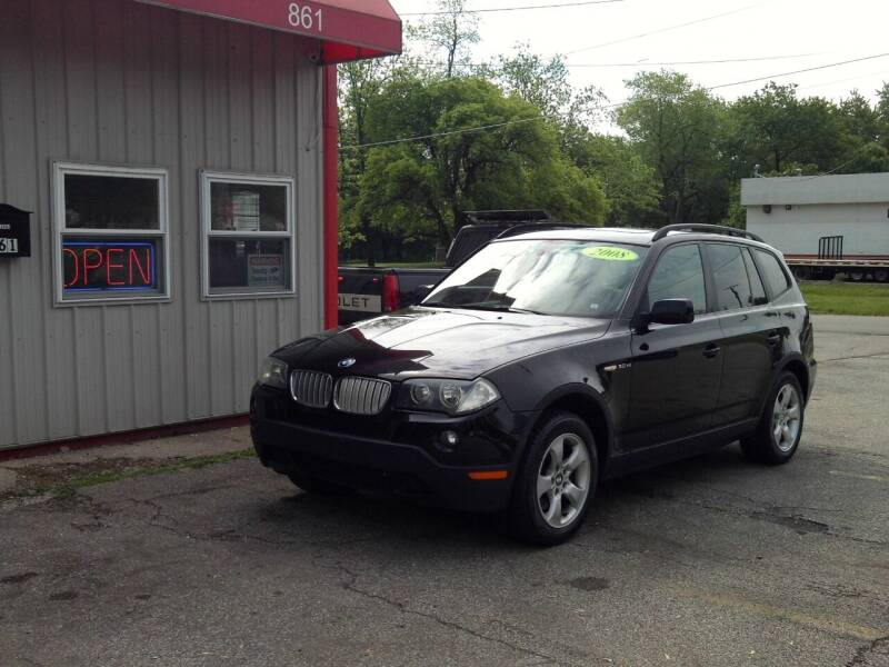 2008 BMW X3 for sale at Midwest Auto & Truck 2 LLC in Mansfield OH