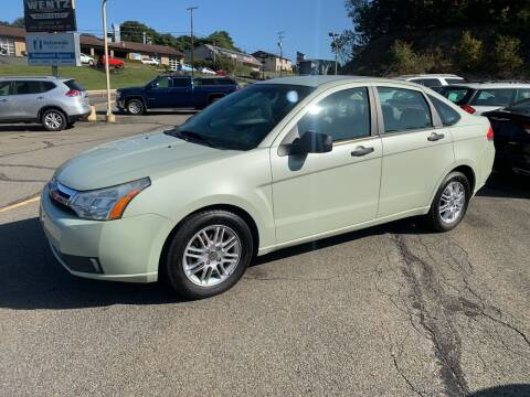 2010 Ford Focus for sale at WENTZ AUTO SALES in Lehighton PA