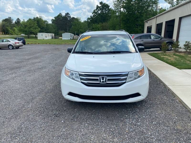 2012 Honda Odyssey for sale at B & B AUTO SALES INC in Odenville AL