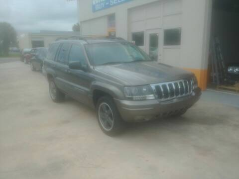 2000 Jeep Grand Cherokee for sale at QUALITY AUTO SALES OF FLORIDA in New Port Richey FL