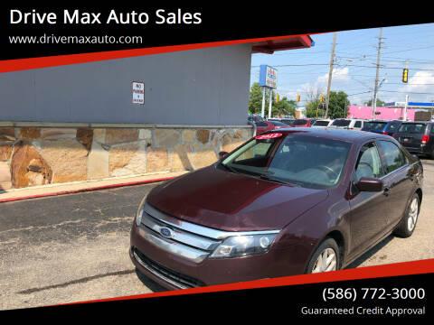 2012 Ford Fusion for sale at Drive Max Auto Sales in Warren MI