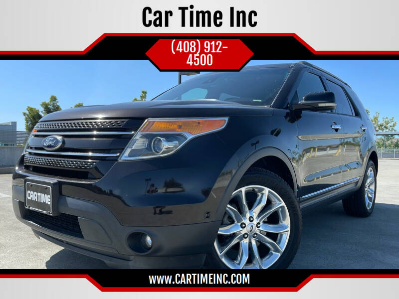 2013 Ford Explorer for sale at Car Time Inc in San Jose CA