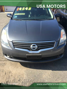 2009 Nissan Altima for sale at USA Motors in Revere MA