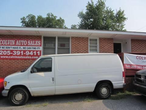 1998 Ford E-150 for sale at Colvin Auto Sales in Tuscaloosa AL