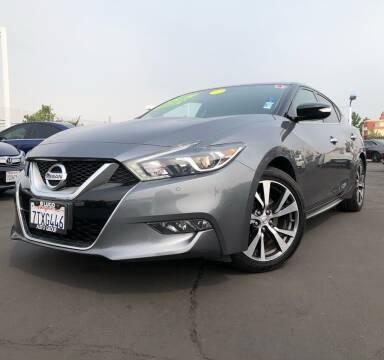 2017 Nissan Maxima for sale at LUGO AUTO GROUP in Sacramento CA