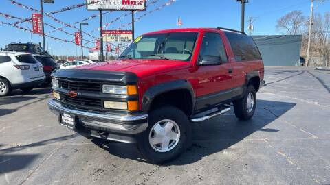 1996 Chevrolet Tahoe for sale at ROUTE 6 AUTOMAX in Markham IL