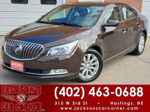 2015 Buick LaCrosse for sale at Jacksons Car Corner Inc in Hastings NE