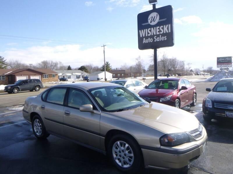 2005 Chevrolet Impala for sale at Wisneski Auto Sales, Inc. in Green Bay WI