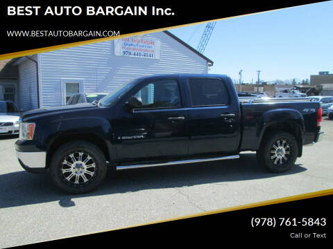2008 GMC Sierra 1500 for sale at BEST AUTO BARGAIN inc. in Lowell MA
