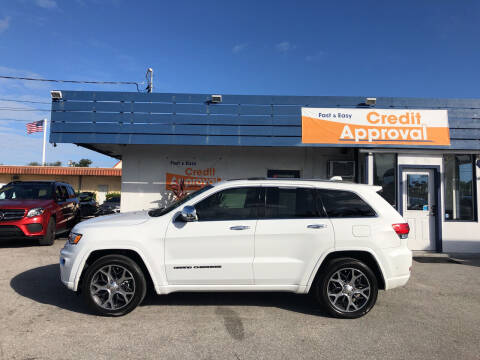 2019 Jeep Grand Cherokee for sale at Classic Cars of Palm Beach in Jupiter FL
