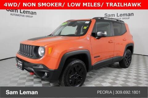 2018 Jeep Renegade for sale at Sam Leman Chrysler Jeep Dodge of Peoria in Peoria IL