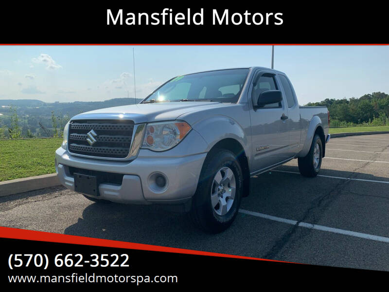 2009 Suzuki Equator for sale at Mansfield Motors in Mansfield PA