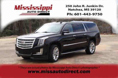 2018 Cadillac Escalade ESV for sale at Auto Group South - Mississippi Auto Direct in Natchez MS