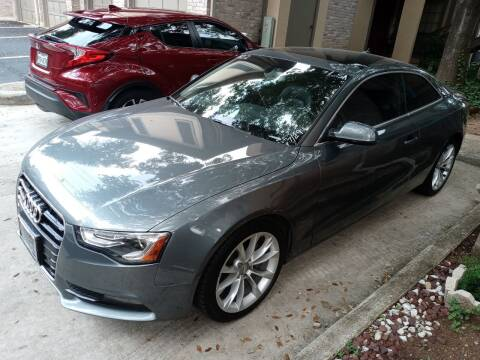 2013 Audi A5 for sale at RICKY'S AUTOPLEX in San Antonio TX