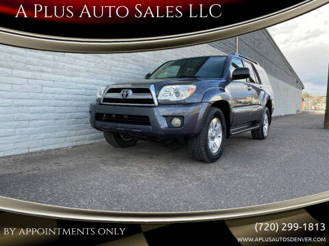 2006 Toyota 4Runner for sale at A Plus Auto Sales LLC in Denver CO