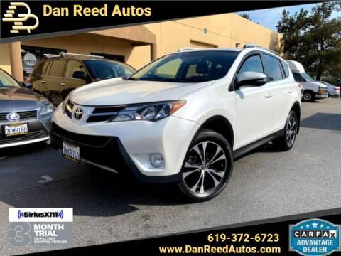 2015 Toyota RAV4 for sale at Dan Reed Autos in Escondido CA