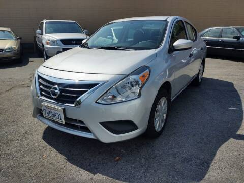 2016 Nissan Versa for sale at Auto City in Redwood City CA