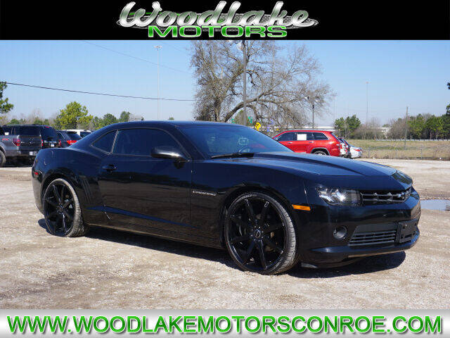 2014 Chevrolet Camaro for sale at WOODLAKE MOTORS in Conroe TX