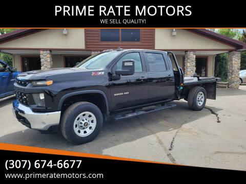 2021 Chevrolet Silverado 3500HD for sale at PRIME RATE MOTORS in Sheridan WY
