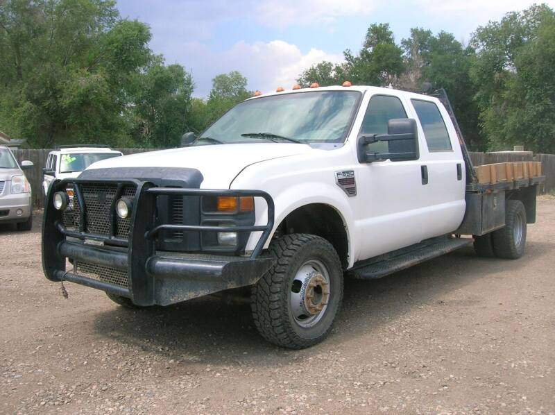 2008 Ford F-350 Super Duty for sale at HORSEPOWER AUTO BROKERS in Fort Collins CO