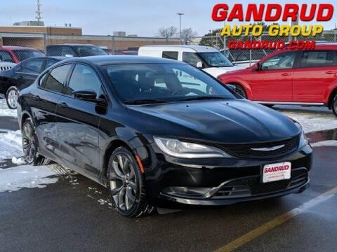 2015 Chrysler 200 for sale at Gandrud Dodge in Green Bay WI