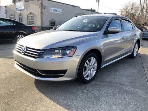 2014 Volkswagen Passat for sale at AAA Auto Wholesale in Parma OH