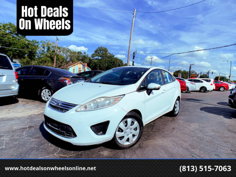 2013 Ford Fiesta for sale at Hot Deals On Wheels in Tampa FL