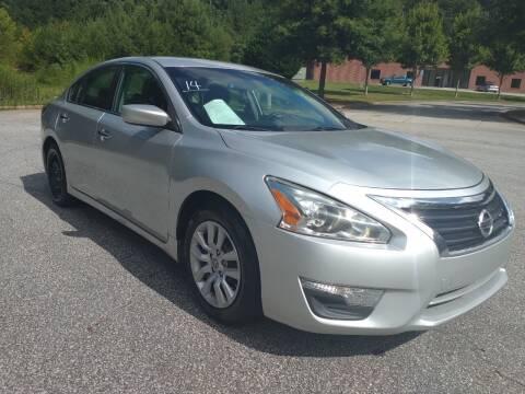 2014 Nissan Altima for sale at Georgia Fine Motors Inc. in Buford GA