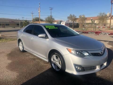 2013 Toyota Camry for sale at Senor Coche Auto Sales in Las Cruces NM