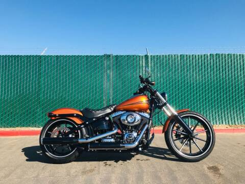 2014 Harley Davidson FXSB Breakout for sale at CAS in San Diego CA