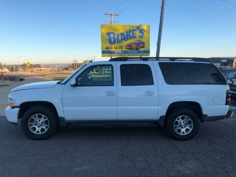 2004 Chevrolet Suburban for sale at Blake's Auto Sales in Rice Lake WI