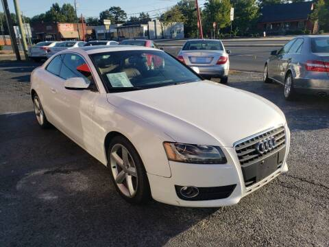 2010 Audi A5 for sale at Lara's Auto Sales LLC in Concord NC